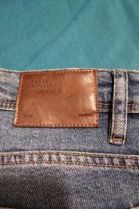 Jeansy Zara Man slim fit niebieskie rozmiar EUR 44 USA 34