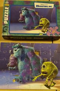 Puzzle monster potwory i spółka 30 szt...