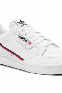 Białe sneakersy Adidas Continental 80 40 23