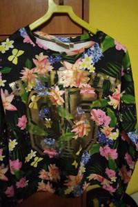 Bluza w kwiaty S...