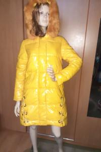 Śliczna żółta kurtka...