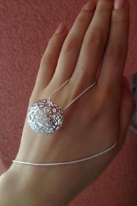 Łańcuszek z przywieszką naszyjnik wisiorek srebrny naszyjnik 925 sterling