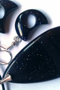 Noc Kairu w srebrze piękny zestaw biżuterii...