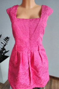 Różowa elegancka sukienka River Island r 42...