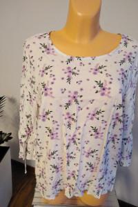 Bluzka Pepco w fioletowe kwiaty r 46...