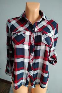 Damska koszula w kratę r XL