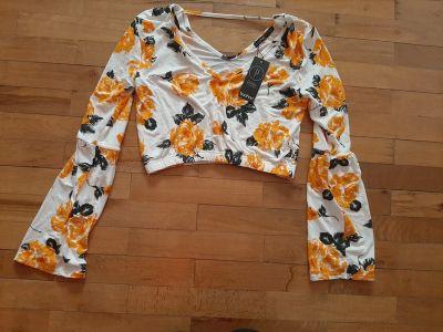 Bluzki bluzeczka boohoo