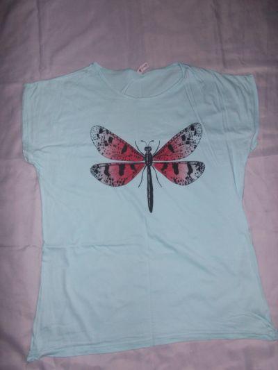 Bluzki Bluzka bluzka z krotkim rekawem 42 44 46