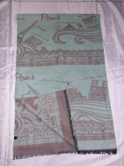 Szaliki i szale Duży szal szalik chusta 190x62cm NOWY szaL