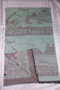 Duży szal szalik chusta 190x62cm NOWY szaL