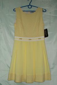 Sukienka żólta sukienka 40 42