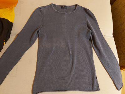 Swetry Sweter sOliver niebieski