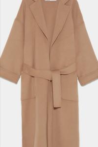Nowy beżowy płaszcz z Zary...