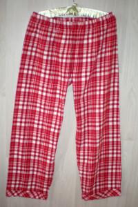 ciepłe spodnie do spania kratka 42...