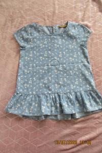 Dżinsowa bluzka bluzki koszula dla dziewczynki nastolatki Smyk 158