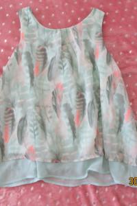Bluzka zielona dla nastolatki dziewczynki z h&m 152 idealna piękna
