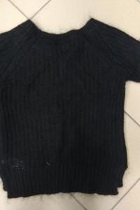 Sweter czarny moher moherowy Cubus XS 34...