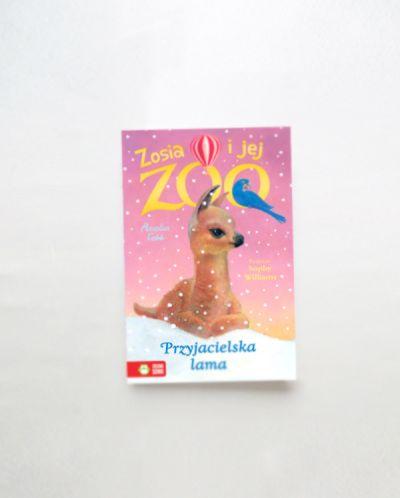Zabawki przyjacielska lama zosia i jej zoo
