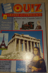 Gra dla dzieci w pytania Quiz cywilizacja 12plus Granna...