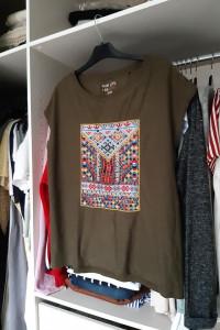 sOliver bluzka ze wzorem aztec...