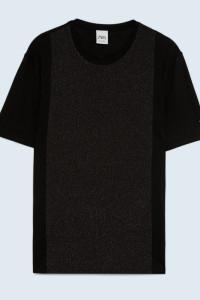 Koszulka T Shirt z łączonych materiałów Zara Man M...
