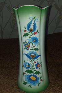 Wazon Lublana wzór kaszubski 30 cm...