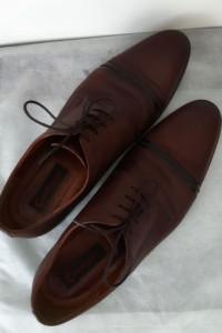 Buty pantofle wizytowe męskie Conhpol 42
