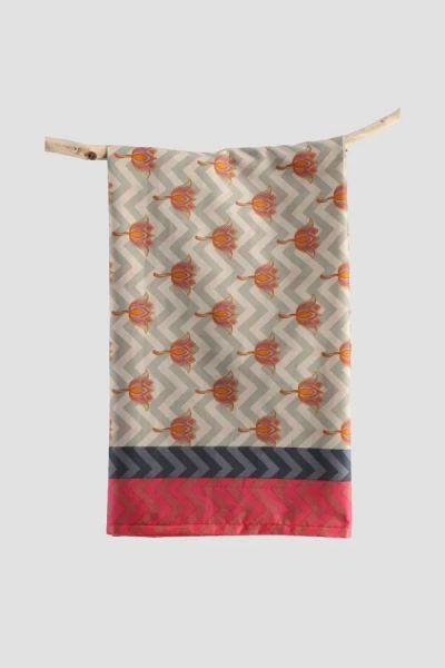 Chusty i apaszki Nowa indyjska chusta duża szal bawełniany chustka dupatta hijab hidżab etno boho hippie
