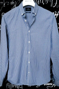 Koszula w kratke Moss London SuperSlim Fit S...