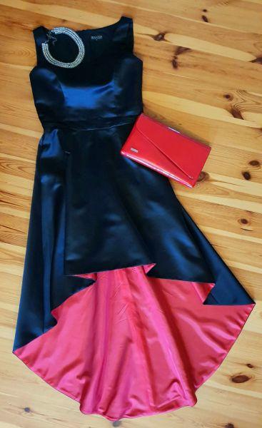Wieczorowe Elegancka suknia BIALCON
