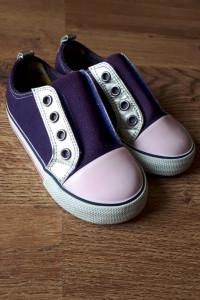 Fioletowe trampki boumy sneakers rozmiar 22...