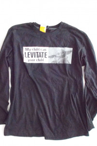 bluza my child can levitate your child koszulka długi rękaw