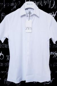 Koszula z krótkim rękawem Zara Man Slim Fit S
