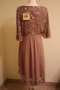 Maya Deluxe sukienka z cekinami...