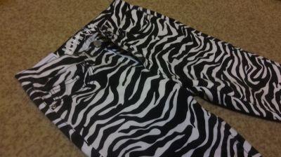 Spodnie Jeansy zebra 36 S