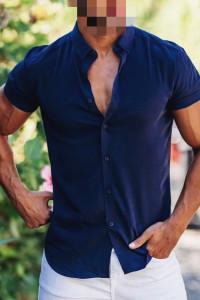 Koszula z krótkim rękawem Zara Man M...