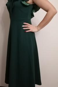 Sukienka damska butelkowa zieleń...