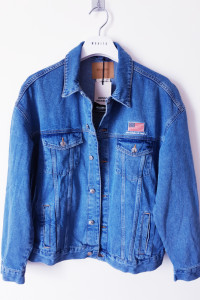Kurtka jeansowa NASA USA Pull&Bear L Oversize