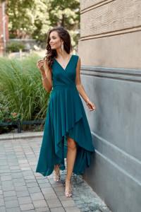 asymetryczna sukienka 294 midi kolory 34 36 38 40 42 44 46...