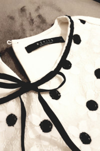 Elegancka koronkowa w kwiatki bluzka koszulka Mohito...