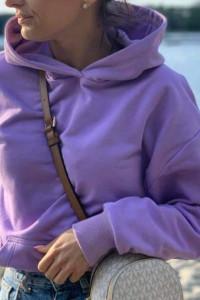 Bluza lila oversize...
