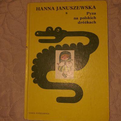 Pozostałe Książka Pyza na polskich dróżkach