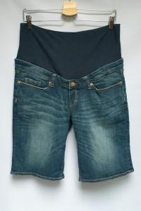 Spodenki Krótkie Dzinsowe H&M Mama Szorty L 40 Jeansowe...