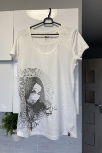Crivit koszulka sportowa nadruk print rozmiar M