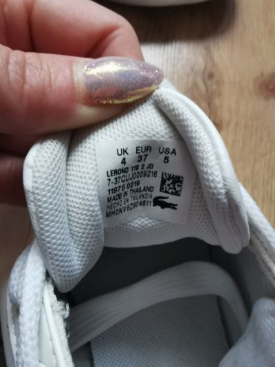 Sportowe Białe buty lacoste