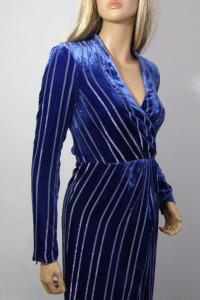 Sukienka srebrna nitka H&M nowa welur XS S...