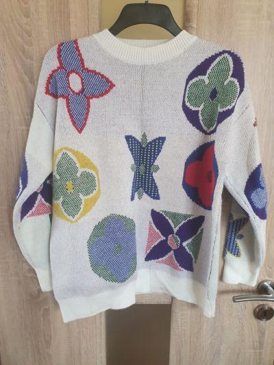 Swetry Piekny kolorowy sweter