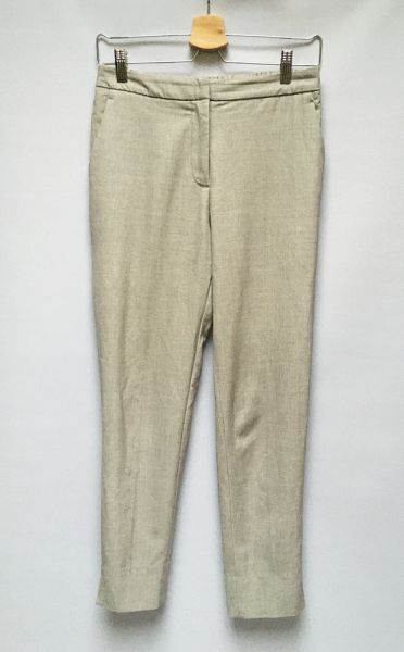 Spodnie Spodnie Szare H&M Eleganckie S 36 Dresy Wizytowe
