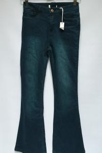 Spodnie S 36 NOWE Urban Dzinsowe Granatowe Szwedy Jeans...