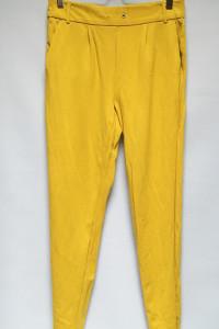 Spodnie M 38 Żółte ONLY Dresy Dresowe Kanarkowe...